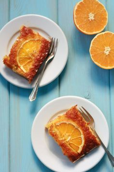 Portokalopita an easy orange pie from Epirus region