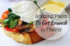 Check out our list of some of our favorite spots for brunch in Madrid! From casual to fancy, there's a brunch for every budget! What's your favorite?