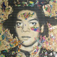 basquiat street art | Street Art : Mr Brainwash squatte le Printemps - Grazia