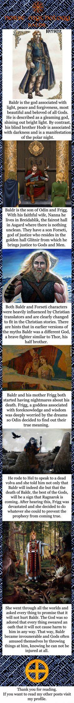 Norse mythology - Baldr