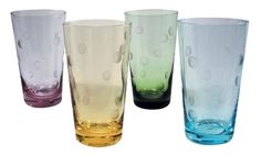 Artland Inc Polka Dot 20 oz HiBall Glasses  Set of 4 >>> Read more reviews of the product by visiting the link on the image.