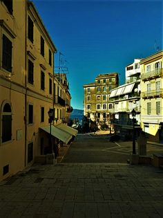 Corfu Island, Greece, Street View, Greece Country
