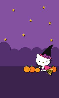 Hello kitty Halloween ★ Find more Autumn & other seasonal wallpapers for your iPhone + Android iPhone Wallpapers Android Autumn find Halloween iphone 384213411963443833 Hello Kitty Halloween, Hello Kitty Birthday, Halloween Cat, Halloween Pajamas, Halloween Ideas, Iphone Wallpaper Fall, Cellphone Wallpaper, Cute Backgrounds, Cute Wallpapers