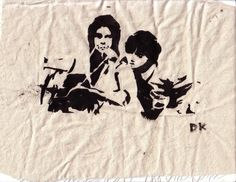 Harold and Maude Stencil on police bike by woftityplopity on DeviantArt