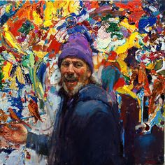Jim McVicker Paintings: Laughing Self