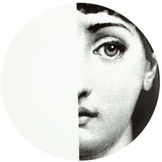 Fornasetti L'eclaireur Made By printed plate sur shopstyle.fr