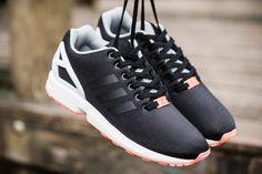 adidas ZX Flux Black Orange  sneakers Adidas Sneakers, Shoes Sneakers,  Adidas Zx d8ff6a4d1c48
