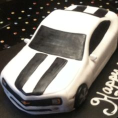 2010 Chevy Camaro cake for 18th birthday.