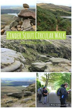 Kinder Downfall circular walk from Hayfield in the Peak District #walking #hiking