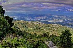 Vistas desde el monte #Aloia, en la sierra de Galiñeiro #Tui #Pontevedra #RíasBaixas #Galicia #SienteGalicia     ➡ Descubre más en http://www.sientegalicia.com/
