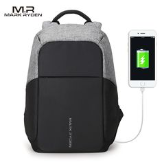 Find More Backpacks Information about Multifunction USB charging Men 15inch Laptop Backpacks For Teenager Fashion Male Mochila Leisure Travel backpack anti thief,High Quality backpack for teenager,China backpack fashion Suppliers, Cheap fashion backpack from MARK RYDEN Official Store on Aliexpress.com