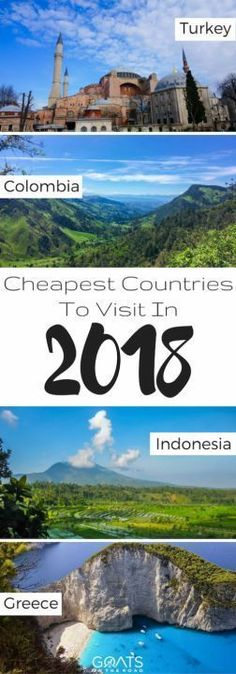 Top 10 Cheapest Countries To Visit in 2018 | Low Budget Travel | Affordable Travel Destinations | Budget Travellers | Worlds Cheapest Travel Destinations | Cheap Vacations #BudgetDestination #BudgetTravel