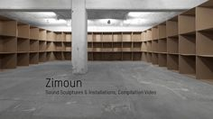 Zimoun : Compilation Video V.2.9 | Sound Sculptures & Installations, Sound Architectures. Video by STUDIO ZIMOUN.