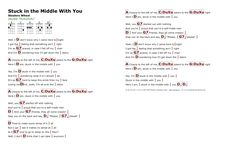 Stuck In The Middle With You (Stealers Wheel) - http://myuke.ca