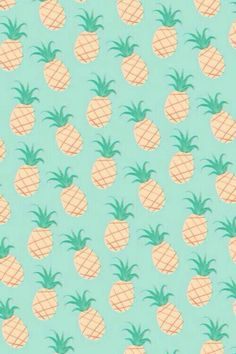 pattern.aqua.pineapples.
