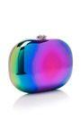 Elina Mirrored Rainbow Spectrum Clutch by Jeffrey   Moda Operandi