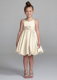 This is the Dress we saw at David's for Bryn! | Flower girl ...