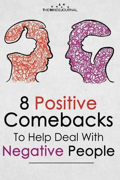 Dealing with a negative person without letting them bring you down can be tricky. Next time you find yourself attempting to fight off their negative energy Negative People Quotes, Negative Person, Positive Quotes, Positive People, Negative Thoughts, Communication, Mean People, Working People, Difficult People