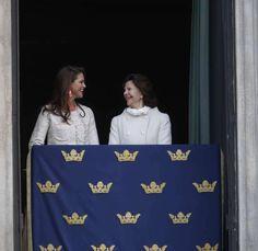 """236 gilla-markeringar, 1 kommentarer - Swedish Royal Family (@svenskakungligt) på Instagram: """"Queen Silvia of Sweden with her daughter Madeleine"""""""