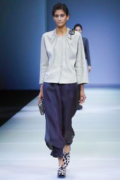 Giorgio Armani Ready To Wear Spring Summer 2015 Milan  eve pants <3