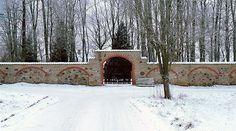 Võisiku manor cemetery gate, Estonia