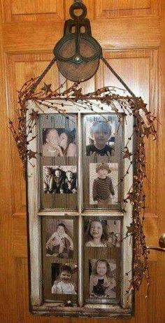 48 Newest Diy Vintage Window Ideas For Home Interior Makeover is part of Old window projects - There are various sorts of windows with double glazing Locate the studs so that you can attempt nailing the frames […] Old Window Frames, Window Art, Barn Wood Frames, Antique Windows, Vintage Windows, Vintage Window Decor, Rustic Decor, Farmhouse Decor, Old Country Decor