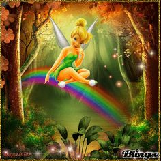 Tinkerbell+rainbow+theme+♥for+contest+in+Tinkerbell+lover+group♥