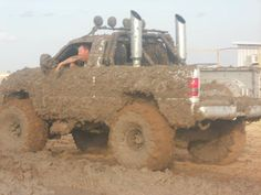Now that is mudding!