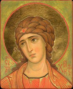 Byzantine Icons, Orthodox Christianity, Russian Orthodox, Religious Icons, Orthodox Icons, Sacred Art, Gabriel, Mona Lisa, Princess Zelda
