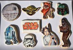 Hand Painted Star Wars Cookies on Global Geek News.