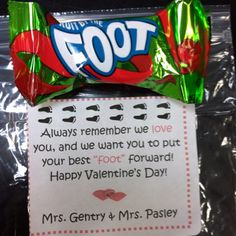 Valentines for our students! :)