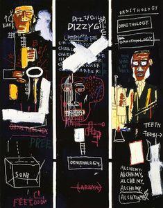 Jean-Michel Basquiat, Horn Players, 1983,