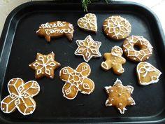 Perníčky, gingerbread.