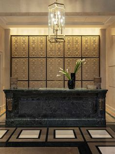Four Seasons Hotel, Front Desk, Hotels, Home Decor, Decoration Home, Room Decor, Home Interior Design, Home Decoration, Interior Design