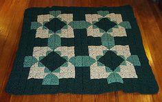 Ravelry: Windwalker Crochet Quilt Lapghan pattern by C.L. Halvorson - Free Ravelry Pattern Download