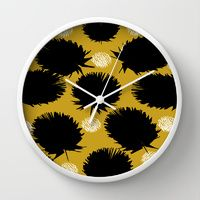 Wall Clock featuring Camille by Gonpart