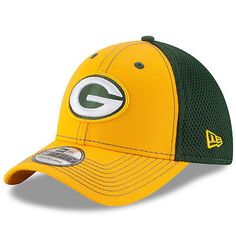 5153b199463 Green Bay Packers New Era Neo NFL 39THIRTY Stretch Fit Flex Mesh Back Cap  Hat