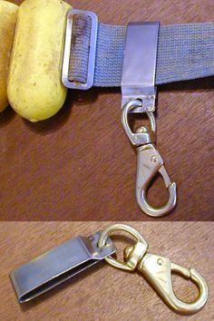 Stainless Weight Belt Clip.