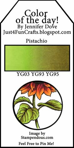 Color of the Day 154 - pistachio