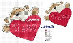 Wedding Cross Stitch, Cross Stitch Heart, Cross Stitch Cards, Cross Stitch Animals, Cross Stitching, Cross Stitch Embroidery, Cross Stitch Designs, Cross Stitch Patterns, Fizzy Moon