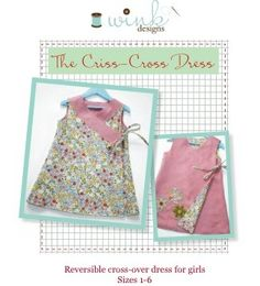 The Criss-Cross Reversible Dress - E-Pattern