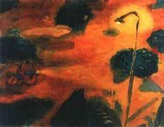 "Alessandro Bazan, "" Fausto"", 1992,olio su tela cm.70x90"