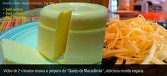 Aprenda a fazer este delicioso aperitivo sem naad de origem animal A culinarista Valéria Elena Paioli, de Bragança Paulista-SP, demonstra como se faz o queijo de macadamia, em uma adaptação da receita original da culinarista campineira Renata Octaviani. Receitas de queijos veganos normalmente parecem difíceis, mas o vídeo mostra que esta é realmente simples. Receita …