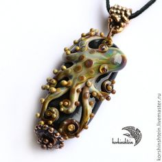 """Кулоны, подвески ручной работы. Ярмарка Мастеров - ручная работа Кулон """"Octopus"""". Handmade."""
