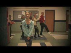 Reedsburg Area High School Teachers Dance Behind Students