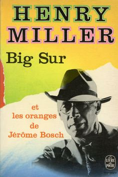 Big Sur, published by Le Livre de Poche, Paris, 1972. Design: Pierre Faucheux