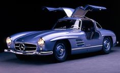 Mercedes 300SL Gullwing...fairest of them all.