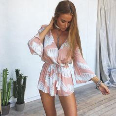 Dreamcatcher Playsuit | #SaboSkirt  Easy to wear instant cute playsuit!