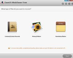 EaseUS iPad Datenrettung