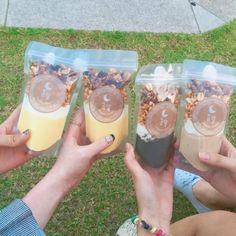 韓国で話題沸騰コムダルのパウチプリンって